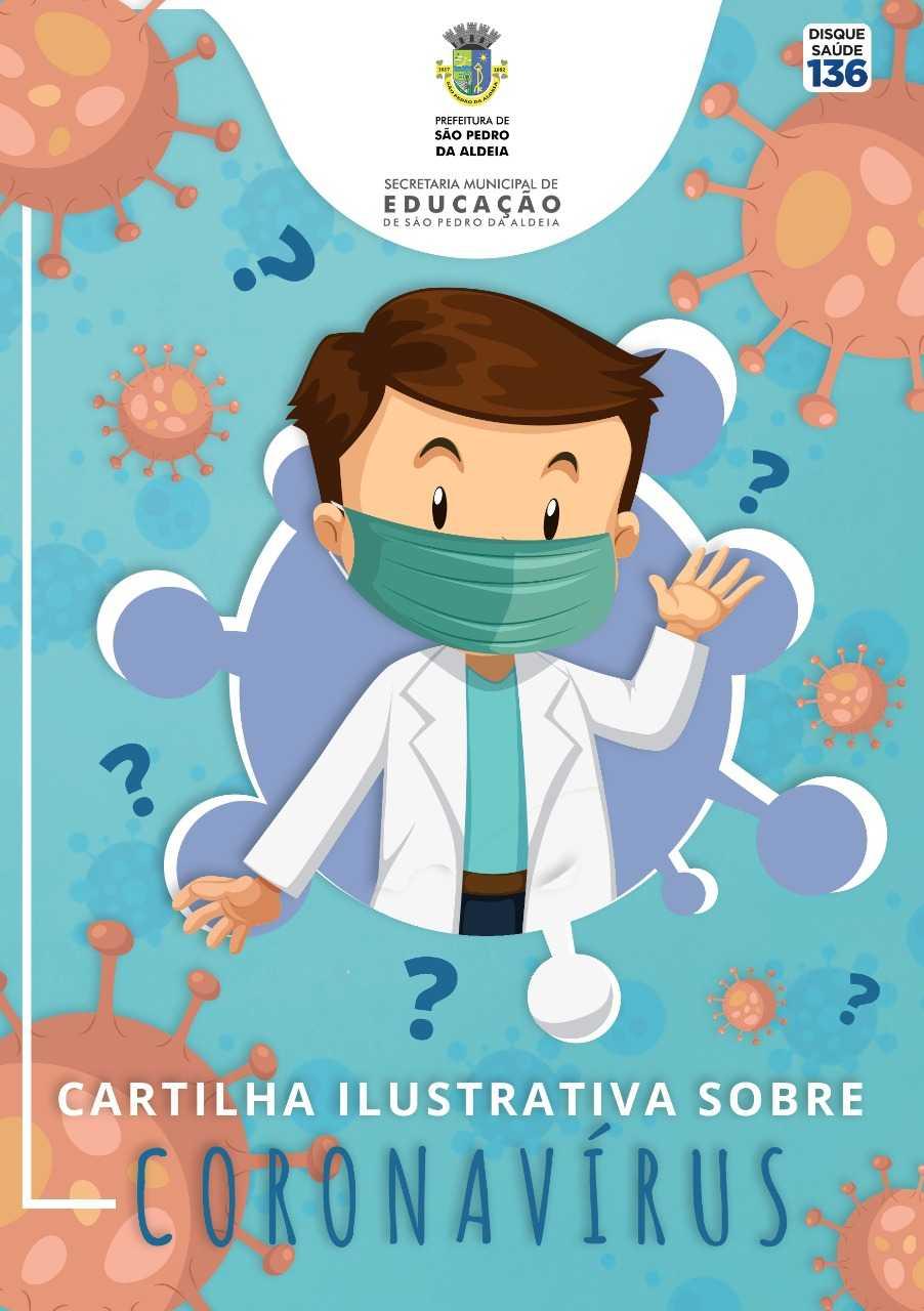 cartilha instrutiva sobre o coronavírus