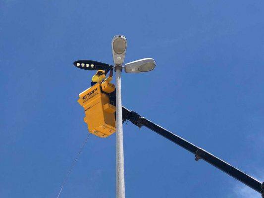 Nova iluminação, com lâmpadas de LED, busca redução de custos aos cofres públicos